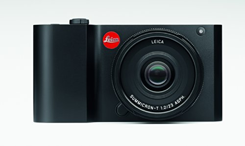 Leica 018-180 T 16 MP Mirrorless Digital Camera with 3.7-Inch LCD, Black Anodized