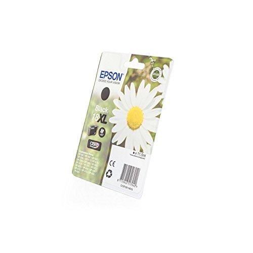 Epson Original C13T18114010 / 18XL - Cartuccia per stampante Expression Home XP-313 Premium, 470 pagine, 11,5 ml, colore: Nero