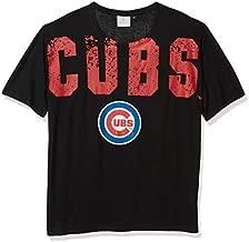 MLB Chicago Cubs Mens Big Logo Wordmark Teebig Logo Wordmark Tee, Team Color, X-Large