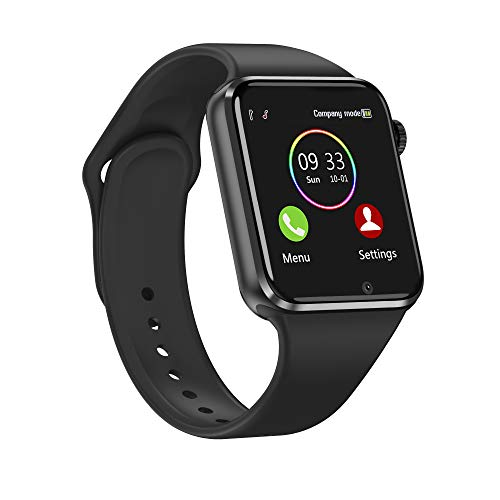 Smart Watch for Android iOS Phones Compatible iPhone Samsung LG, 321OU Touchscreen Bluetooth Smartwatch Fitness Tracker Watch with Speaker SIM SD Card Slot Camera for Men Women Kids