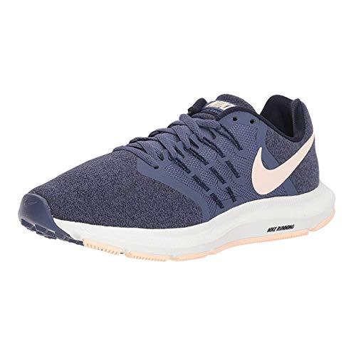 Nike Mujeres Run Swift Running Trainers 909006 Sneakers Zapatos (UK 2.5 US 5 EU 35.5, Sanded Purple Crimson 501)