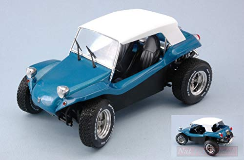 NEW SOLIDO SL1802701 Manx Meyers Buggy 1968 Soft ROOF Blue 1:18 MODELLINO DIE CAST