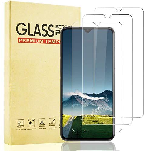 Lixuve Protector de Pantalla para Xiaomi Mi 9 Lite, Anti-Arañazos, Alta Sensibilidad, Anti-Burbuja Vidrio Templado, 3 Unidades