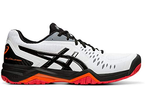 ASICS Men's Gel-Challenger 12 Court Shoes, 9M, White/Black
