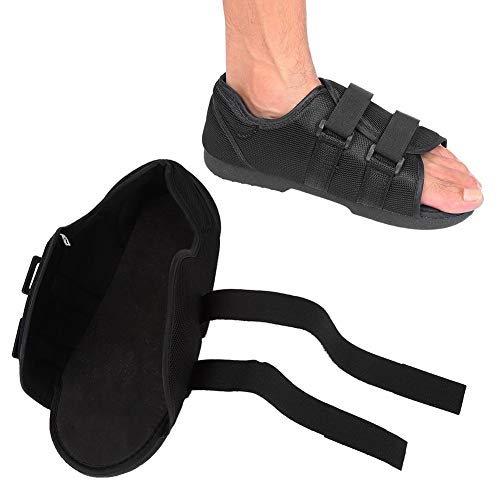 enkelsteun, schoenbescherming na operatie, verstelbare bandjes met open teenschoen voor lichte wandelschoenen voor vierkante teenschoenen met zachte botbreuken.