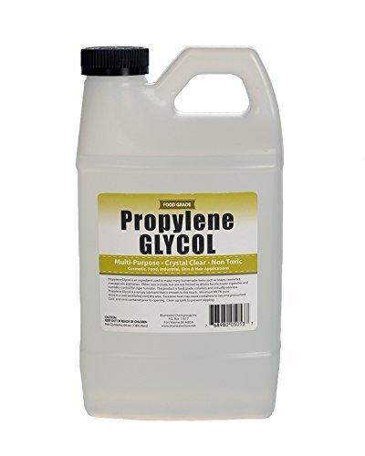 Sanco Industries Propylene glycol - halb gallon - usp certified food grade - höchste reinheit, feuchthaltemittel, nebelmaschine, humidor & gefrierschutzlösung
