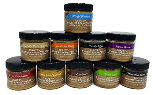 bNutty Gourmet Peanut Butter - Assorted Flavors - Gluten Free - Natural Peanut Butter - Made in USA...