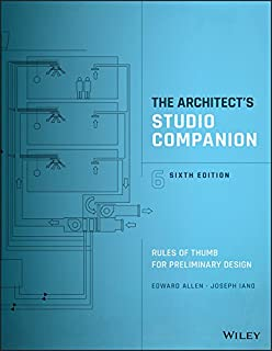 The Architect's Studio Companion: Rules of Thumb for Preliminary Design