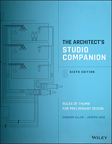 Download The Architect's Studio Companion: Rules of Thumb for Preliminary Design 1119092418
