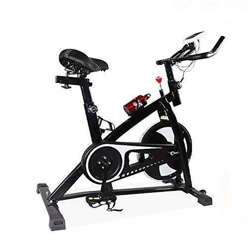 EEUK Bicicleta de Ejercicio,Bicicleta Indoor con Disco de In