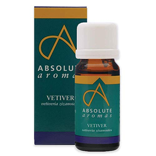 Absolute Aromas Vetiver Essential Oil 30ml - 100% Pure, Natural, Undiluted, Cruelty Free - for Use in Diffusers, Aromatherapy, Candle Making and DIY Beauty Recipes