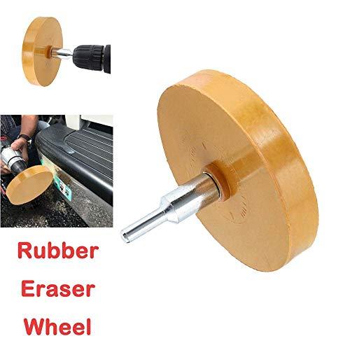yh-eu Universeel rubberen gumwiel voor het verwijderen van autolijm Zelfklevende sticker Krijtstreepsticker Grafische autoreparatie Verfgereedschap