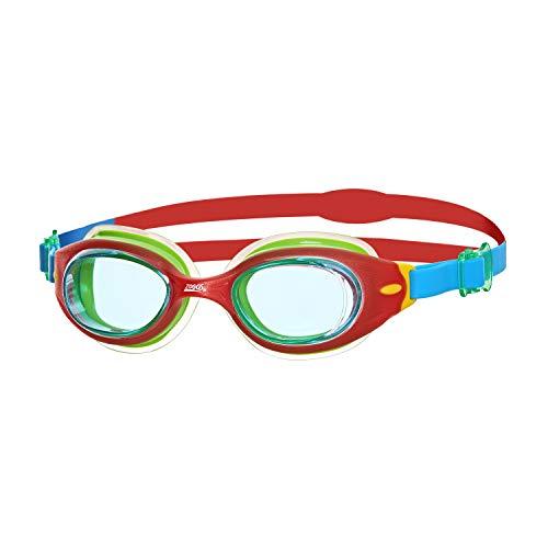 Zoggs Little Sonic Air Goggles Gafas de natación, Infantil, Azul/Rojo, 0-6 años