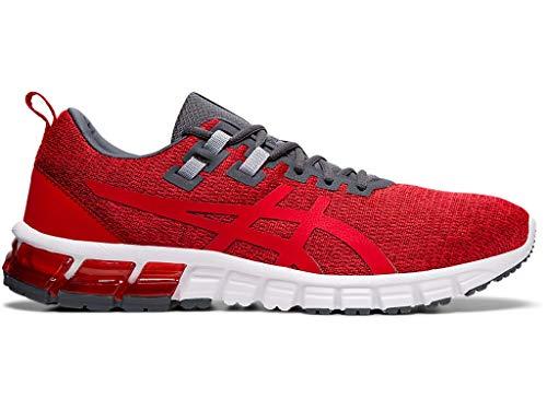 ASICS Men's Gel Quantum 90 Shoes, 11M, Burgundy/Speed RED