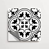 Bleucoin Tangier Peel and Stick Tile Stickers for Kitchen Bathroom Backsplash Waterproof Removable Eco Friendly Decals, DIY Vinyl Renters Home Décor -Pack of 12 (4