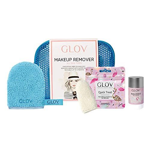 Guante Desmaquillantes Reutilizable Guante para Cara Guante de Microfibra Hipoalergénico para Quitar Maquillaje Sólo Úsalo con Agua para Desmaquillarte para Todos los Tipos de Piel Set de Viaje 3 en 1