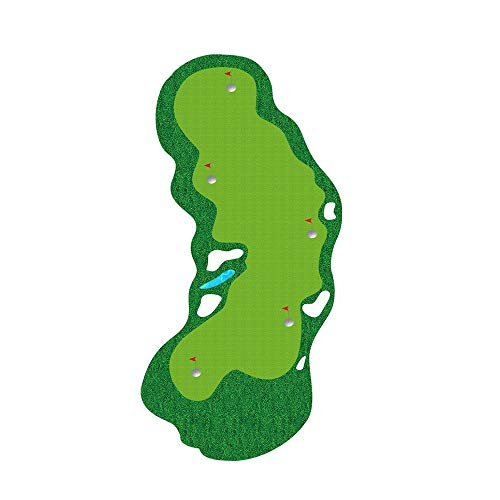 New QPABS SHOPS Golf Practice Ball Mat Simulation Nylon Grass Ball Mat with Anti-Slip Mat Artificial...
