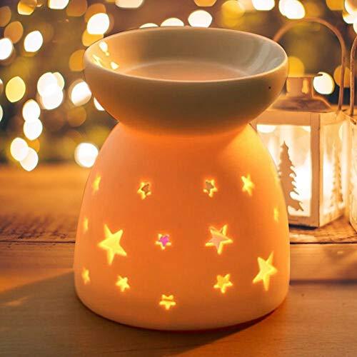 Sostenedores luz vela cerámica fragancia lámpara