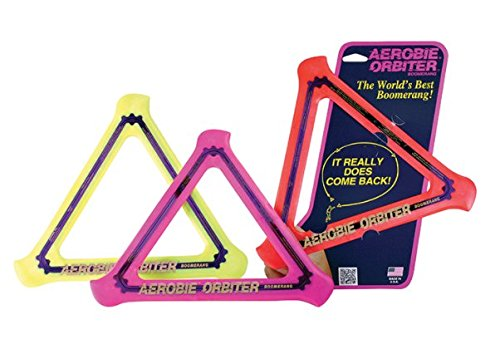 Aerobie  Orbiter Boomerang Set of 3 Color May Vary