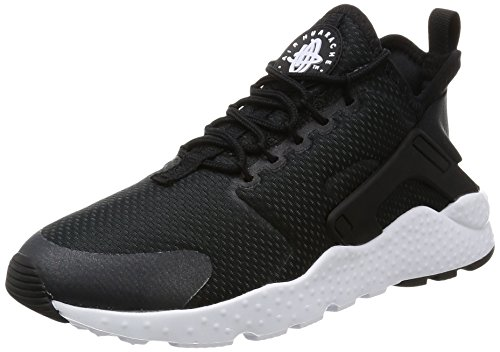 Nike Damen Air Huarache Run Ultra Laufschuhe, Schwarz (Black / Black / Black / White), 36.5 EU
