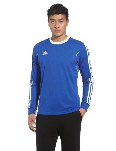 adidas Squad 13 - Camiseta de Deporte (Manga Larga), Color Azul y Blanco Cobalto y Blanco Talla:S