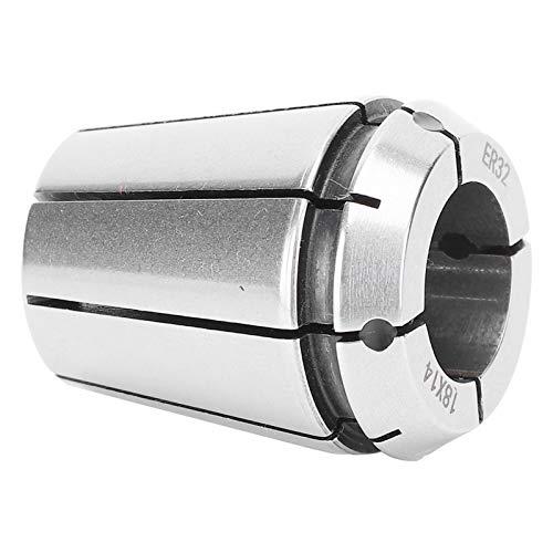 Mandril de boquilla de resorte, Juego de boquilla de resorte de boquilla de rosca Acero de alta velocidad 18 X 14 para fresadora CNC para máquina de grabado CNC