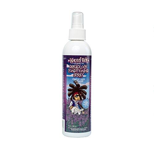 Knotty Boy Dreadlock Conditioning Spray Purple Haze Lavender 8oz