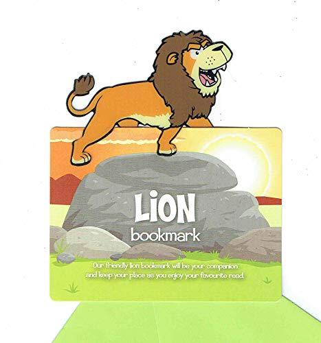 Safari Lesezeichen Löwe