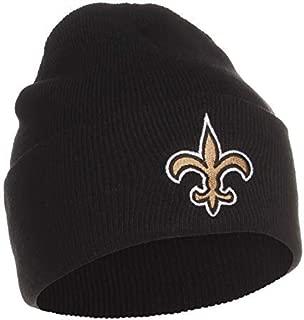 Reebok NFL Cuffless Team Logo Beanie Hat - Football Knit Skull Cap