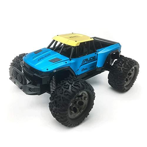 YYQIANG 1/12 Deriva de Alta Velocidad Control Remoto Car 2.4G Aleación Escalada Niños Bigfoot Off-Road Vehicle Juguete Modelo Coche Boy Children's Toy Cumpleaños Aficiones Infantiles