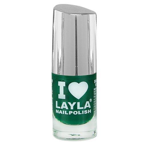 Layla Cosmetics I Love Layla Nagellak - diepgroen, 1-pack (1 x 0,005 l)