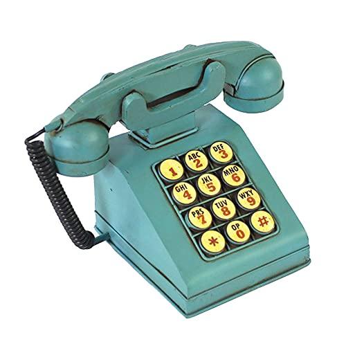 Lllunimon Hucha del Modelo del Teléfono De La Novedad del Estilo Europeo, Regalo Divertido De La Decoración del Hogar del Banco De Monedas