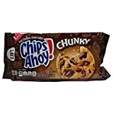 Chips Ahoy! The sweet, delicious cookie that America has loved since 1964. Perfect for an afternoon snack, evening dessert, or even a sneaky midnight treat. White fudge and chocolate chip cookies. Resealable with easy-open tab keeps cookies fresh. Ch...