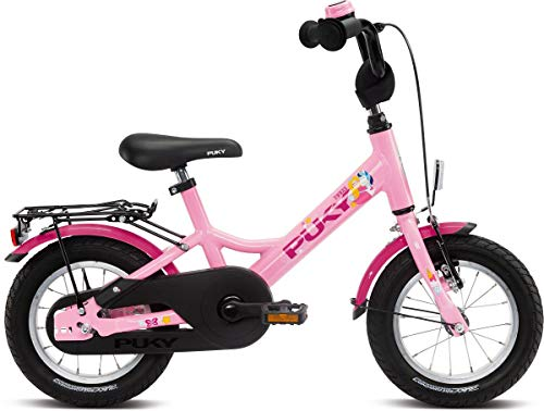 Puky Youke - Bicicletta per bambini, in alluminio, 12''-1, colore: rosa
