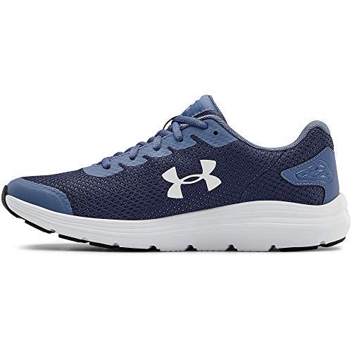 Under Armour Men's Surge 2 Running Shoe, Blue Ink (400)/White, 10