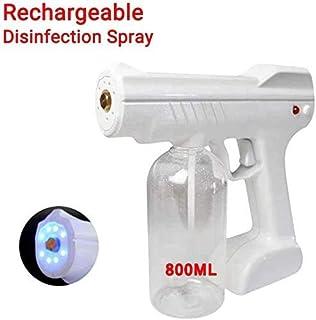800ML Cordless Charging Electric ULV Sprayer Portable Fogger Machine Disinfection Machine, Nano Sterilization Atomizer, Di...