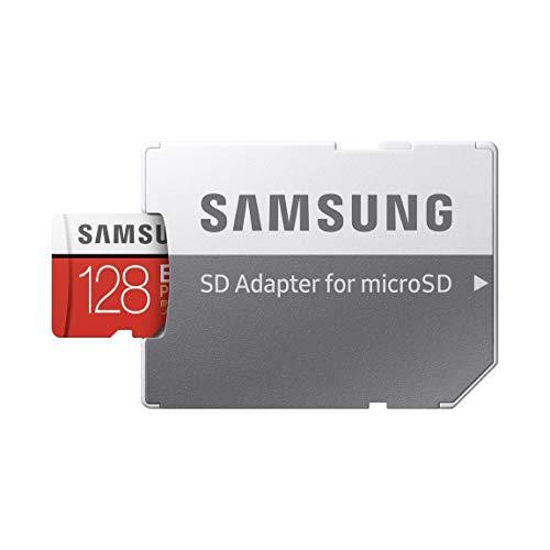 Samsung EVO Plus 128 GB microSDXC UHS-I U3 Memory Card with Adapter