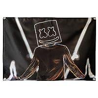 電子音楽バーKTVスタジオ壁飾り吊り旗背景壁掛け布-3_144 * 96cm薄