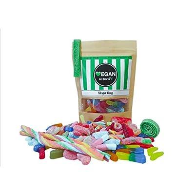 vegan all sorts mega bag fizzy fizz free mix bag of vegan sweets, gummies, jelly, candy, cola bottles | vegetarian | halal friendly, gift bag, party favours Vegan Sweets | Vegetarian | Halal Friendly, Gift Bag | All Sorts Fizz Free and Fizzy Mega Bag Vegan Sweets, Gummies… 414yVtB 8lL