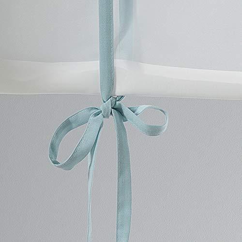 Charme et Douceur Store, recht, voor gordijnroede, polyester, 60 x 150 cm