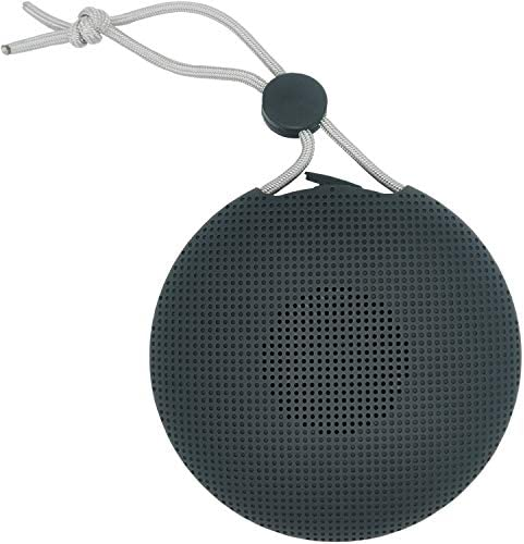 FOCUS REVISION Outdoor Mini Splash Waterproof Portable Bluetooth Speaker with Lanyard Black product image