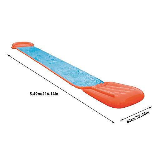 Tela de esquí acuático Simple, tobogán de jardín,