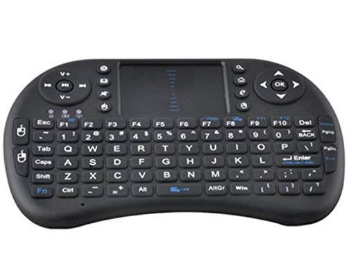 Mini draadloos toetsenbord Black met Airmouse