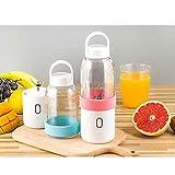 ZWWZ Juicer MachinesMini Juicer Fruit Fruit PuiCer, Fabricante de Mango portátil Blender Juice Vegetal |USB Recargable (Color: Verde) HAIKE (Color : Pink)
