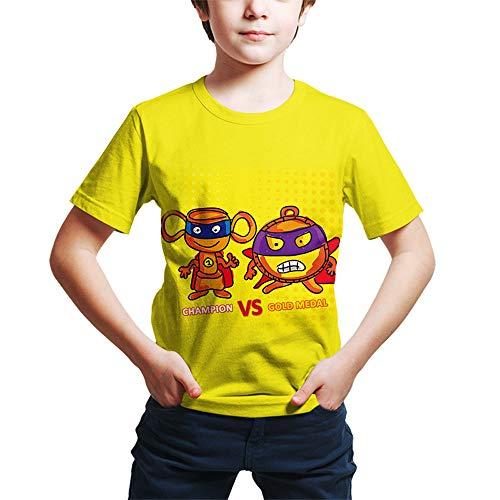 ZONVENL Superzings Maglietta Camicia della Stampa del Fumetto Tshirt Tempo Libero T di Disegno d'avanguardia Maglietta for Ragazzi e Ragazze Uomo (Color : A16, Size : S)