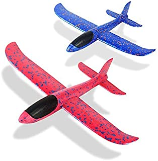 Foam Glider Airplane Toys Aircraft Hand Throwing Planes 13.5