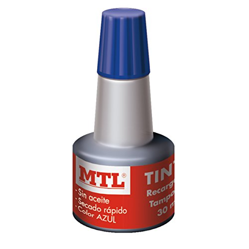 MTL 79535 - Tinta tampones y sellos, 30 ml, color azul