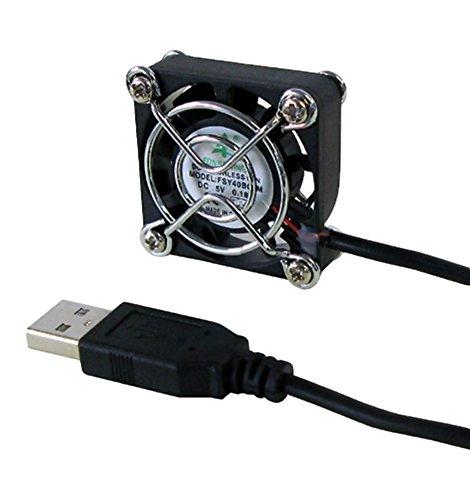 タイムリー USBファン [ 40mm角ファンモデル ]  LittleFAN40U