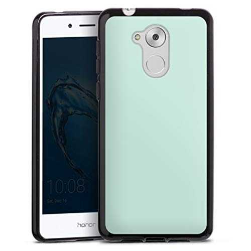 DeinDesign Silikon Hülle kompatibel mit Huawei Honor 6C Hülle schwarz Handyhülle einfarbig Mint Thermomixmotive