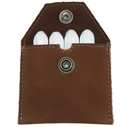 Hide & Drink, Rustic Leather Tampon Case / Condom Holder Pouch, Secret Stash Handmade Includes 101 Year Warranty :: Swayze Suede